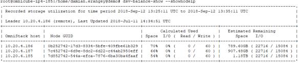 dsv-balance-show
